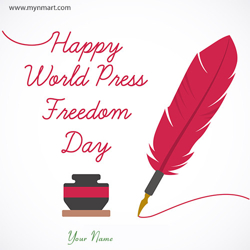 Happy World Press Freedom Day Greeting 2020