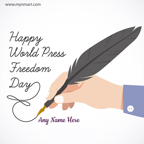 Happy World Press Freedom Greeting