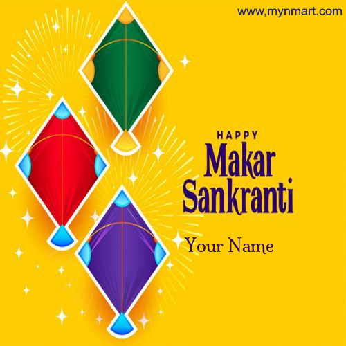 Makar Sankranti with Colorfull Kites