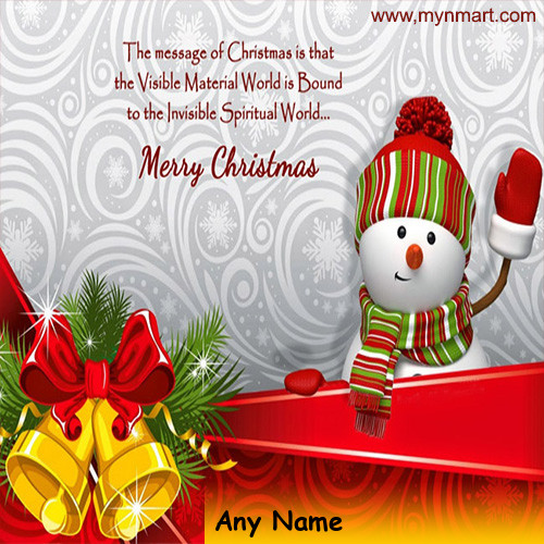 Meryy Christmas Message