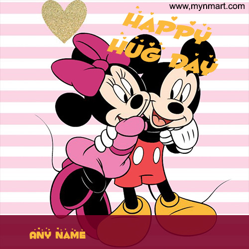 Mickey Hug Minnie