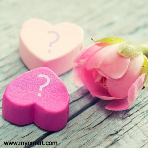 Name Alphabet On Flower Heart Pictures