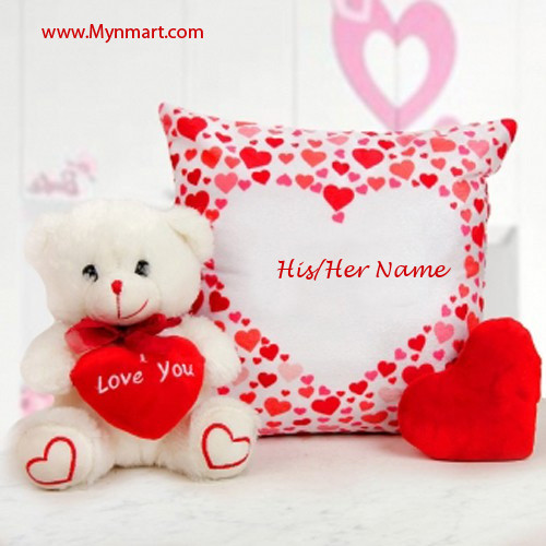 Name In Pillow