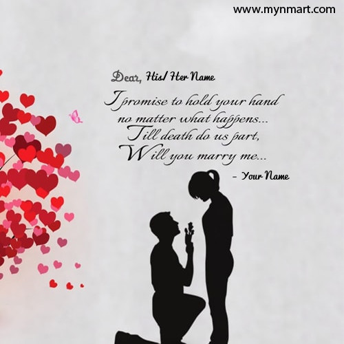 Propose Day Marry Me Quotes