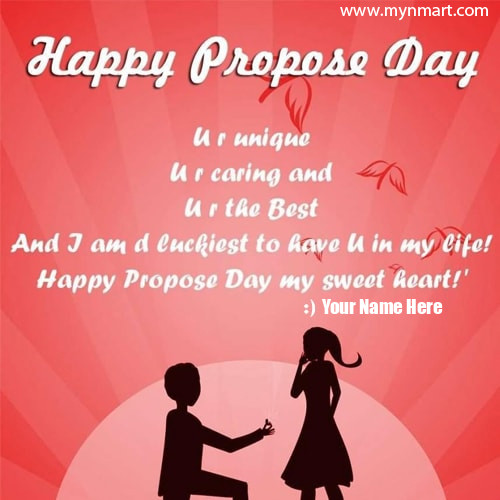 Propose Day Wishes Beautiful Image with Quotes