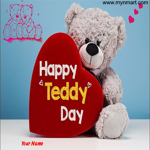 Teddy with red heart