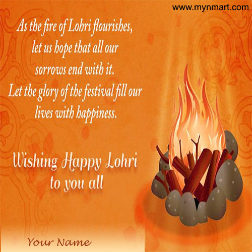 Wishing Happy Lohri to You All