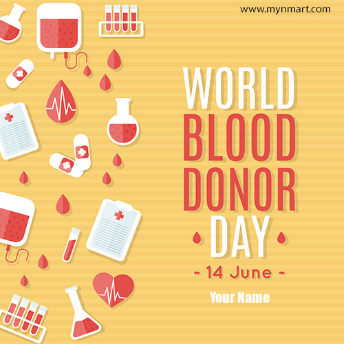 World Blood Donor Day Greeting