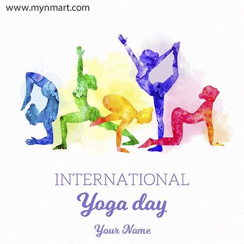 World Yoga Day Greeting